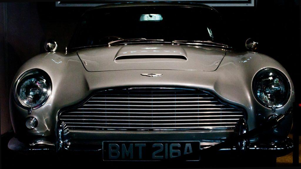 james bond party theme car