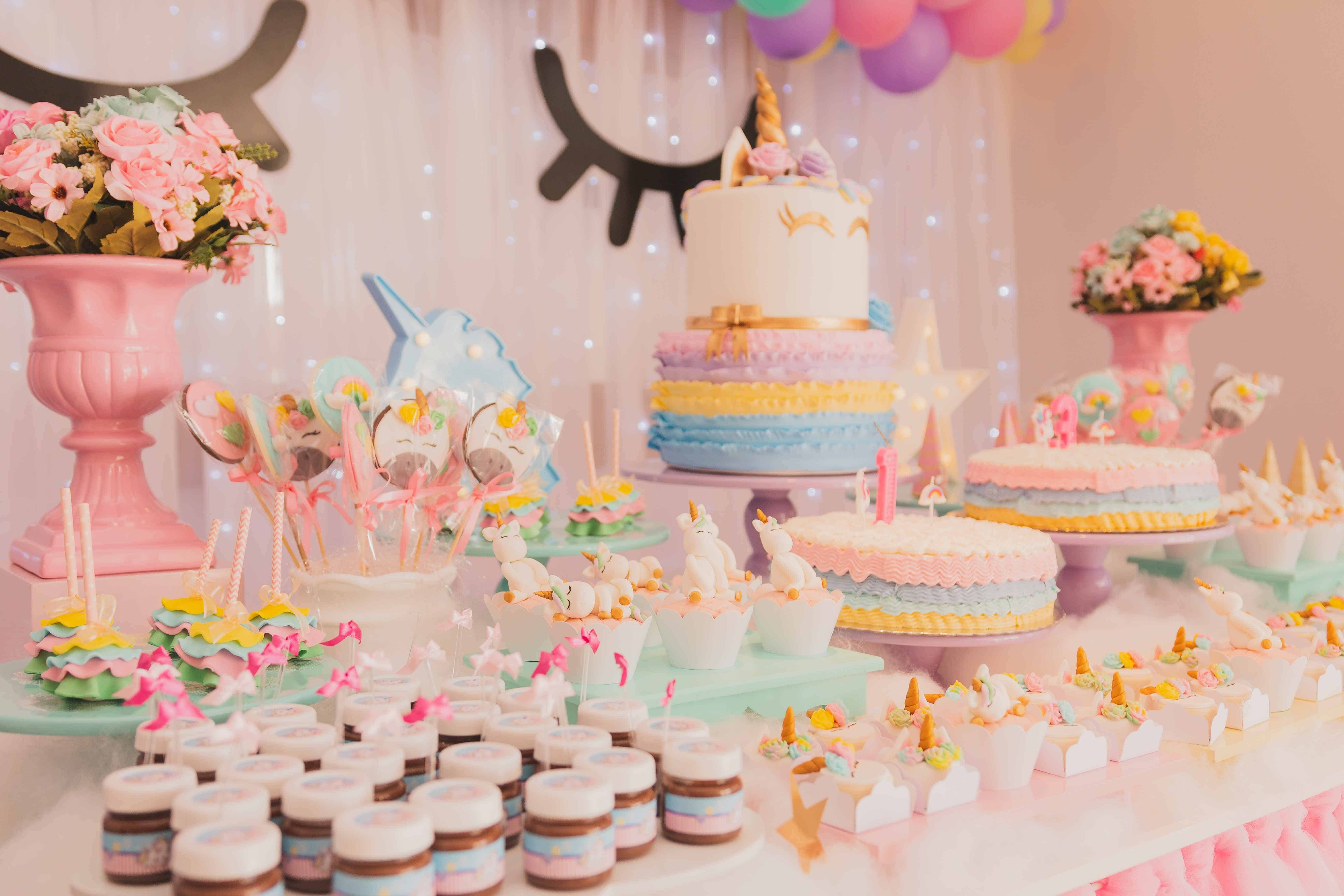 unicorn theme children's party